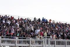 Tribuna Jam-packed Bahrain Airshow 2012 Fotografie Stock