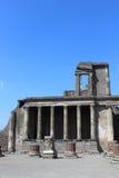 Tribuna a Pompeii Fotografie Stock Libere da Diritti