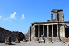 Tribuna a Pompeii Fotografia Stock