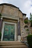 Tribuna romana immagine stock