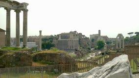 Tribuna romana stock footage