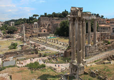 Tribuna romana antica in Grecia Fotografie Stock