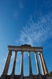 Tribuna romana a Roma immagini stock