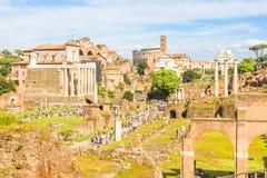 Tribuna romana a Roma, Italia Immagine Stock Libera da Diritti
