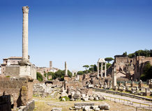 Tribuna Romanum Fotografie Stock