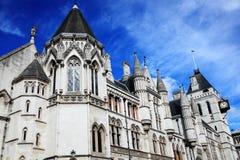 Tribunais de Justiça reais Fotos de Stock Royalty Free