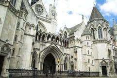 Tribunais de Justiça reais Imagem de Stock Royalty Free