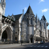 Tribunais de Justiça reais Foto de Stock