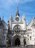 Tribunais de Justiça reais Fotografia de Stock Royalty Free