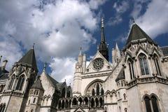 Tribunais de Justiça reais Imagens de Stock