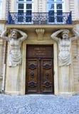 Tribunal在Cours Mirabeau的de Commerce在艾克斯普罗旺斯,法国 库存照片