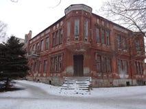 Tribunal abandonado, Bahmut Fotografía de archivo