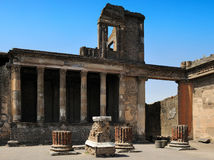 The Tribunal in the Basilica, Pompeii Royalty Free Stock Photography