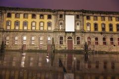 Tribunal da Relacao do Porto. Seen during rainy morning. Porto, Norte, Portugal Stock Photography