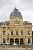 Tribunal de Commerce de Paris, France. Partial view of the wonderful building, Tribunal de Commerce de Paris, France Stock Images