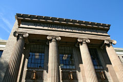 Tribunal de condado Fotografia de Stock Royalty Free