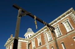 Tribunal de condado da lápide foto de stock