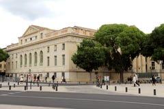 Tribunal de Grande Instance在Nîmes,法国 免版税库存照片