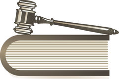 Tribunal de Justiça Fotografia de Stock Royalty Free