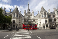 Tribunal de Justiça real Londres Fotos de Stock