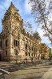Tribunal de Justicia, Barcelona. Tribunal de justicia in Barcelona, Spain Royalty Free Stock Photos