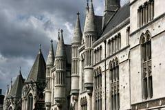 Tribunal de Justicia real Imagen de archivo