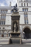 Tribunal de Justicia real Londres Foto de archivo libre de regalías