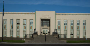 Tribunal de Klickitat County em Goldendale Washington Fotos de Stock