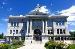 Tribunal de Missoula County - Montana imagens de stock