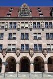 Tribunal de Nuremberg images stock