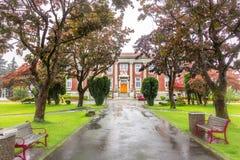 Tribunal de prince Rupert, Canada photographie stock