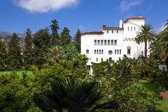Tribunal de Santa Barbara Foto de archivo