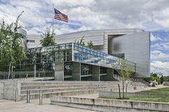 Tribunal de Wayne Lyman Morse USA de côté images stock