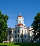 Tribunal del condado de Hancock Imágenes de archivo libres de regalías