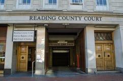 Tribunal del Condado de la lectura, Berkshire Imágenes de archivo libres de regalías