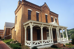 Tribunal do tijolo vermelho em Fairfax County, VA fotografia de stock royalty free