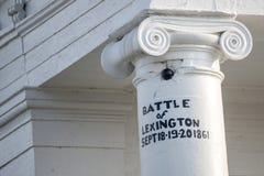 Tribunal du comté de Lafayette Images stock
