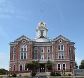 Tribunal du comté de Posey Images stock