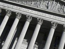 Tribunal em NYC Fotos de Stock