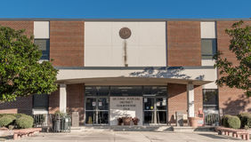 Tribunal en second lieu juridique de secteur dans Gulfport Mississippi Photo stock