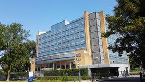Tribunal especial para a construção de Líbano em Leidschendam nos Países Baixos perto de Haia fotos de stock royalty free