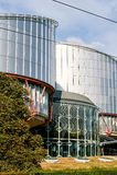 Tribunal Europeo de Derechos Humanos Imágenes de archivo libres de regalías