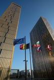 Tribunal Europeo de la justicia Fotos de archivo libres de regalías