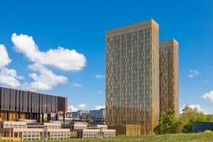 Tribunal Europeo de la justicia Imagenes de archivo