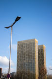 Tribunal Europeo de las torres de la justicia Imagenes de archivo