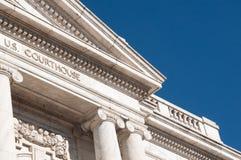 Tribunal federal Imagens de Stock Royalty Free