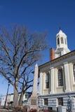 Tribunal histórico en la ciudad vieja, Warrenton Virginia Foto de archivo