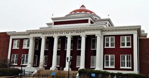 Tribunal Marion Arkansas de Crittenden County imagens de stock