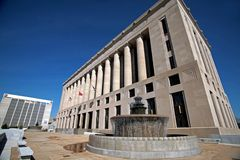 Tribunal Nashville Tennessee du comté de Davidson Image libre de droits