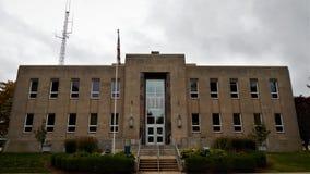 Tribunal Princeton Illinois de Bureau County fotografia de stock